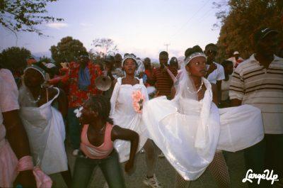 Rara procession, Gonaïves, Haiti