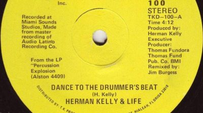 Herman Kelly - Dance to the Drummer's Beat